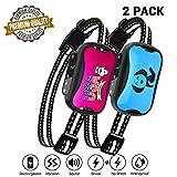 petamer 2 Pack Dog Bark Collar Rechargeable Shock/No Shock/Vibrate E Collar for Small/Medium/Large