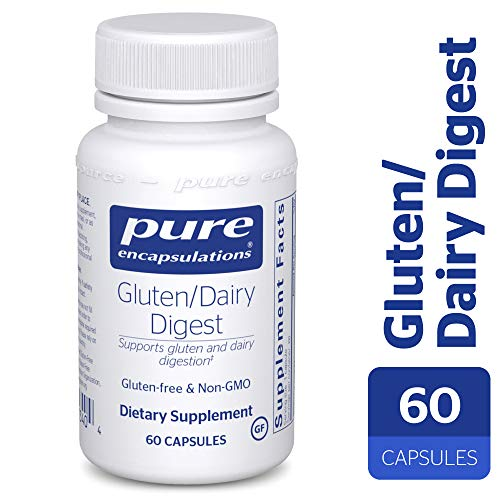 Pure Encapsulations - Gluten/Dairy Digest - Dietary Supplement Enzyme Blend for Healthy Gluten and Dairy Digestion* - 60 Capsules