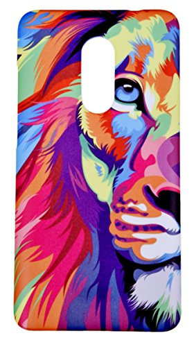 Lakshya creative Lion Face Animated Designer Printed Xiaomi Redmi Note 4 mobile case back cover 2
