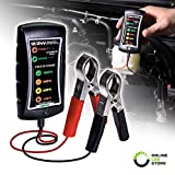 12/24V DC Automotive Battery Tester [Large Clamps] [LED Display]