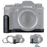 JJC Metal Hand Grip L Bracket Holder for Fujifilm Fuji X-T3 XT3 X-T2 XT2 Camera, Arca Swiss Type Quick Release Plate…