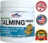 K9 Pro Calming Treats for Dogs - Tasty Hemp Anxiety Relief Chews Aid Composure and Reduce Stress Separation - Calm Behavior for Barking Storms Fireworks and Travel - Reduce Aggression