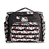 Ju-Ju-Be B.F.F. Convertible Diaper Bag, Hello Kitty Dots and Stripes