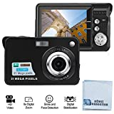 Acuvar 21MP Megapixel Digital Camera with 2.7' LCD Screen, Rechargeable Battery, HD Photo and Video for Indoor, Outdoor Photography for Adults, Kids