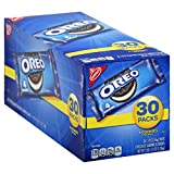 Oreo Chocolate Sandwich Cookies - 30 Halloween Snack Pack (120 Cookies Total)