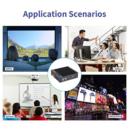 Vnopn-Fanless-Mini-PC-Windows-10-Pro-Small-Computer-Intel-N3710-Quad-Core-up-to-256GHz-Micro-Desktop-PC-4K-HD-with-4GB-RAM-64GB-SSD-24G5G-WiFi40-BTDual-Display1000M-LAN-Auto-Power-OnWOL