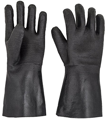 G & F Products Insulated waterproof/oil & heat resistant BBQ, Smoker, Grill, and Cooking Gloves. Great for barbecue & grilling -excellent gift -1 pair (13 Inch)