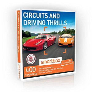 Buyagift Circuits and Driving Thrills Gift Experiences Box – 400 driving experience days on tracks and courses across the UK