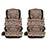 Kids Embrace DC Comics Justice League Chibi High Back to Backless Booster Seat (2 Pack)