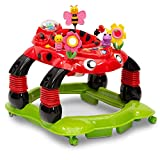 Delta Children Lil' Play Station 3-in-1 Activity Walker, Sadie the Ladybug