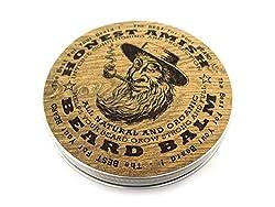 Honest Amish Beard Balm - New Large 4 Oz Twist Tin  Image