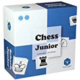 Chess Junior - Chess Set for Kids - Nominated 'Best Toys Award 2019' - for 5 6 7 8 Year Old Boys and Girls, Blue