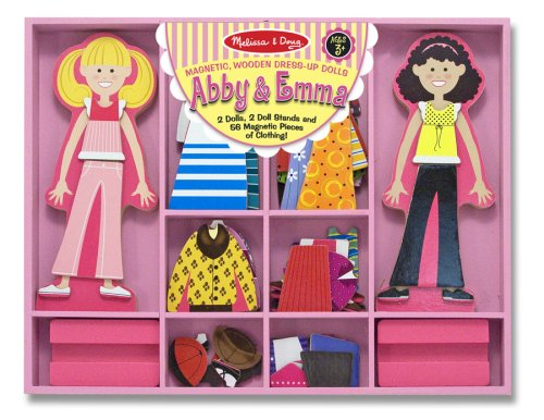 Abby & Emma Deluxe Magnetic Dress-Up