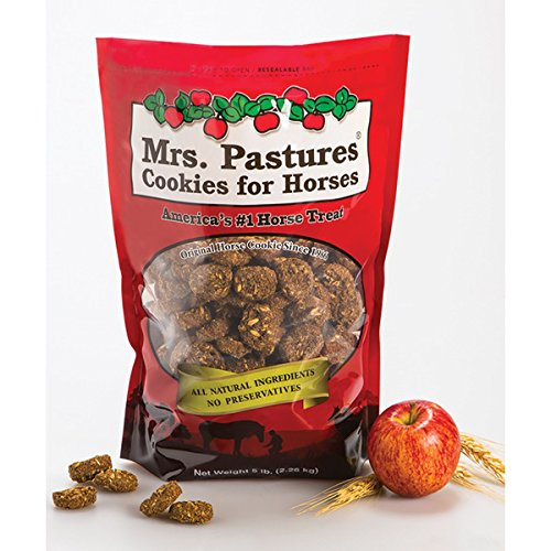 Mrs. Pastures Horse Cookies & Treats - Premium All Natural Treats (5 Pound Bag) 1