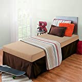 Product review for Zinus Sleep Master Memory Foam 5 Inch Bunk Bed / Trundle Bed / Day Bed / Mattress, Twin, Khaki