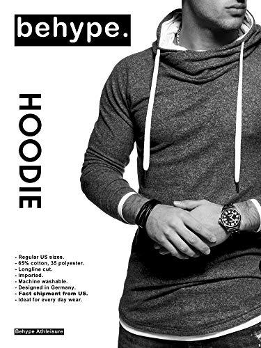 Behype. Men's Sweater Jumper Hoodie Sweatshirt Pullover Longsleeve Tops Sport Outwear MT-7431 3 Fashion Online Shop gifts for her gifts for him womens full figure