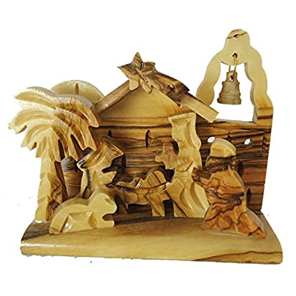 Small Olive Wood Nativity