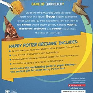 Origami: 15 Paper-Folding Projects Straight from the Wizarding World! (Harry Potter) 51eIywbtX2L