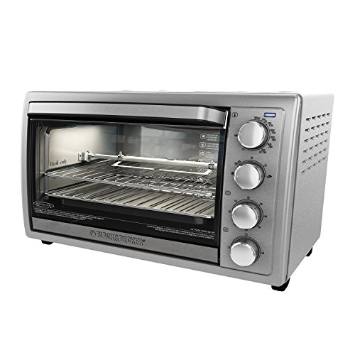 BLACK+DECKER TO4314SSD WCR-076 Rotisserie Toaster Oven, NO NO SIZE, Silver