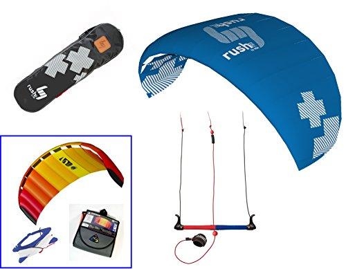 HQ4 Rush 300 PRO Kite Plus Free 2nd Kite! (Symphony Beach 1.3 Kite)