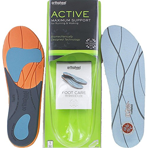 Plantar Fasciitis Pain Relieving Orthotic Insoles- XS4