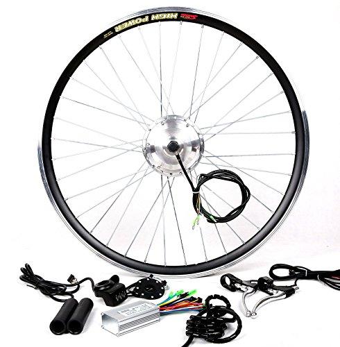 36V350W Electric Bicycle E Bike Hub Motor Conversion kit + LCD+ Disc Brake (700C Wheel, Front Wheel)