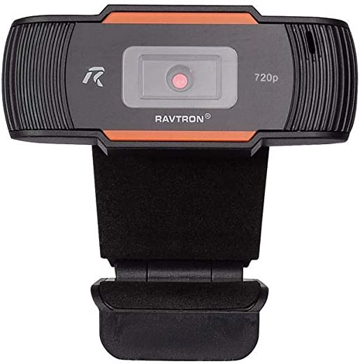 Ravtron Web Camera 17/02 for PC Laptop with USB Port 720p Best for Video conferencing and Online Classes
