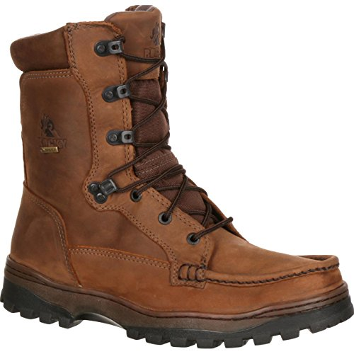 Rocky Men's FQ0008729 Hiking Boot, Light Brown, 12 WI