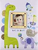 C.R. Gibson Dinosaur 'Boy oh Boy' First Five Years Memory Baby Book, 64pgs, 10'' W x 11.75'' H