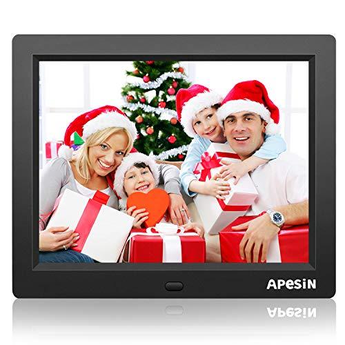 Digital Picture Frame, APESIN 12.1 Inch HD Screen(Black)