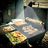 Culinary King LED Barbecue Grill Light - Fully-Adjustable, Attaches to any Grill Handle, 50,000 Hour Lifespan,