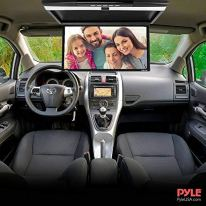 Car-Overhead-Monitor-Screen-Display-173-inch-LCD-Vehicle-Flip-Down-Roof-Mount-Console-HDMI-TV-Player-Control-Panel-w-Built-in-IR-Transmitter-for-Wireless-IR-Headphone-Pyle-PLRV1725