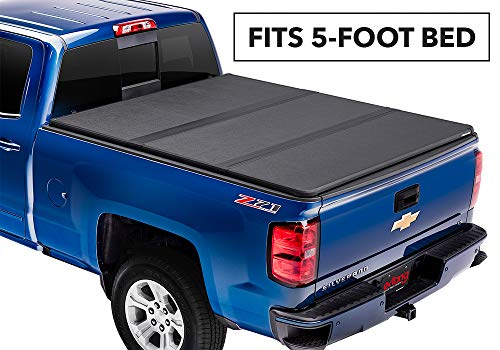 Extang Solid Fold 2.0 Hard Folding Truck Bed Tonneau Cover | 83350 | fits Chevy/GMC Canyon/Colorado (5 ft bed) 2015-18