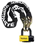 Kryptonite New York Fahgettaboudit Chain 1415 and New York Disc Lock, 14mm x 60'