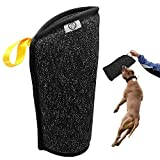 PET ARTIST Puppy Bite Sleeves for Small Breeds Primary Bite Training,Small Dogs Training Biting Tugging Toy Fit Malinois GSD Puppy Black