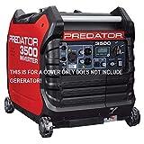 GCD Predator 3500 watt Generator Cover Custom Fit (Black) in Stock