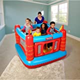 Fisher-Price Bouncetastic Bouncer with 50 Play Balls, 69' x 68' x 53'
