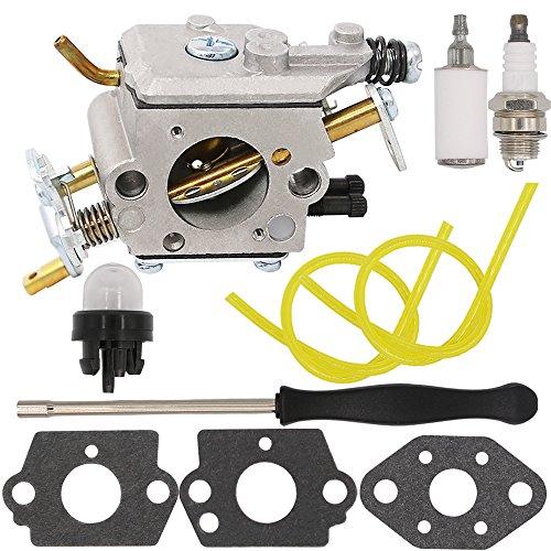 Yooppa Carburetor for Poulan Pro PP5020AV PP5020 PP5020AVX Chainsaw 2 stroke PP4818A Gas Chainsaw 573952201/573 95 22-01 Craftsman 358.350980 358.350981 358.350982 Zama C1M-W47 Carburetor