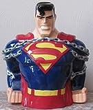 Superman Cookie Jar - Warner Bros Brothers Exclusive 1997 - stamped DC Comics