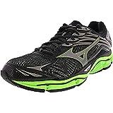 Mizuno Men's 410778 Wave Enigma 6 Running Shoes, Black/Green Gecko/Dark Shadow, 7 US D (Medium)