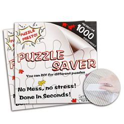Jigsaw-Puzzle-Glue-Mat-Sticks-Saver-1000-Pieces-Peel-Stick-with-Strong-Adhensive-Paper-Roll-Up-Frame-Table-Clear-for-Kids-or-Adult