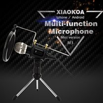 Professional-Condenser-Microphone-Plug-Play-Home-Studio-microphones-for-Iphone-Android-Recording-PC-Computer-Podcasting-Mini-Desktop-MIC-Stand-dual-layer-acoustic-filter-M3-New