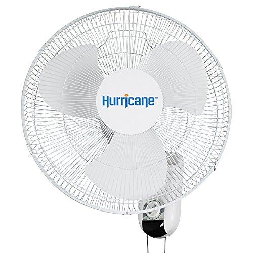 Hurricane 736503 Classic 16 Inch Wall Fan, Oscillating