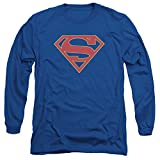 Supergirl Logo Mens Long Sleeve Shirt