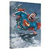 In Formation -- Superman -- Stretched Canvas Framed Artwrap, 8x12