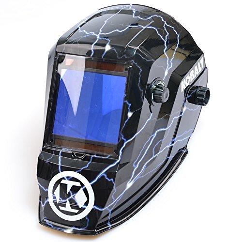 Kobalt Auto Darkening Variable Shade Hydrographic Welding Helmet