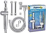 RinseWorks - Patented Aquaus 360 Diaper Sprayer - NSF Certified for Legal Installation - 3 Year Warranty - Dual Spray Pressure Controls - SafeSpray Valve Core, StayFlex Hose