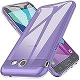 for Samsung Galaxy J7 V / J7 2017 / J7 Prime / J7 Perx / J7 Sky Pro/Galaxy Halo Case, LK Ultra [Slim Thin] TPU Rubber Soft Skin Silicone Protective Case Cover (Purple)