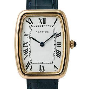 Cartier Faberge Tonneau Mechanical-Hand-Wind Male Watch 7810 (Certified Pre-Owned)