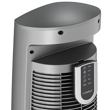 Lasko-Wind-Curve-Portable-Electric-42-Oscillating-Tower-Fan-with-Fresh-Air-Ionizer-Timer-and-Remote-Control-for-Indoor-Bedroom-and-Home-Office-Use-Silverwood-2554
